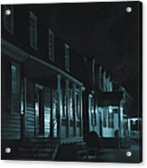 Row Homes Acrylic Print