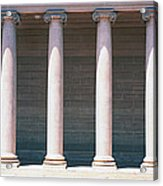 Row Of Columns San Francisco Ca Acrylic Print