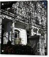 Row Of Edwardian Houses In London Acrylic Print