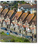 Row Of Houses Acrylic Print