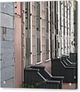 Row Of Houses II Acrylic Print