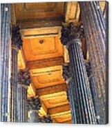 Row Of Pillars Acrylic Print