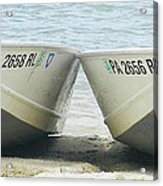 Row Row Row Your Boat Acrylic Print