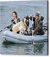 Row Your Goat Acrylic Print