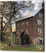 Rowan County Grist Mill Acrylic Print