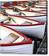 Rowboats Acrylic Print by Elena Elisseeva