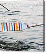 Rowing Oar Acrylic Print