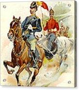 Roxbury Horse Guards 1895 Acrylic Print