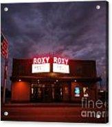 Roxy Theatre Acrylic Print