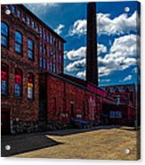 Roy Hill Roy Continental Mill Acrylic Print by Bob Orsillo