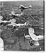 Royal Air Force Formation Acrylic Print