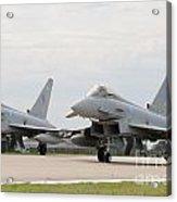 Royal Air Force Typhoon Aircraft  Acrylic Print
