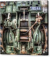 Royal Army Bulldozer Acrylic Print by Yhun Suarez