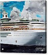 Royal Caribbean Sovereign Of The Seas Acrylic Print