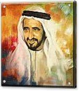 Royal Collage Acrylic Print