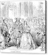 Royal Costume Ball, 1851 Acrylic Print