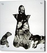 Royal Dogs Acrylic Print