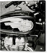 Royal Enfield Motorbike Acrylic Print