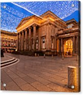 Royal Exchange Square At Borders Acrylic Print
