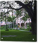 Royal Hawaiian Hotel Entrance Acrylic Print