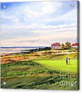 Royal Liverpool Golf Course Hoylake Acrylic Print