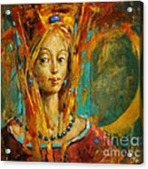Royal Muse Acrylic Print