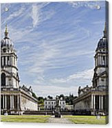 Royal Naval College Courtyard Acrylic Print