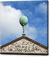 Royal Palace In Amsterdam Architectural Details Acrylic Print