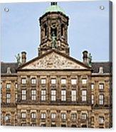Royal Palace In Amsterdam Acrylic Print
