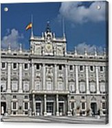 Royal Palace Of Madrid Acrylic Print