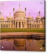 Royal Pavilion In Brighton England Acrylic Print