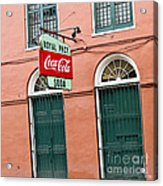 Royal St. Pharmacy Acrylic Print