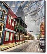 Royal Street Mist V2 Acrylic Print