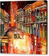 Royal Street Serenade Acrylic Print