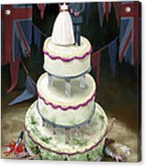 Royal Wedding 2011 Cake Acrylic Print