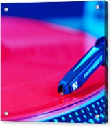 Royall Groove In Vertical Format Acrylic Print