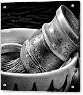 Roy's Shaving Mug I Acrylic Print