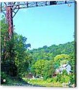 Rr Bridge Acrylic Print