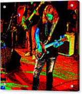 Rrb #17 Enhanced In Cosmicolors Acrylic Print