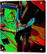 Rrb #19 Enhanced In Cosmicolors Acrylic Print
