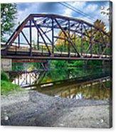 Rt 106 Bridge Acrylic Print