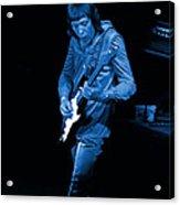 Rt #17 Crop 2 Enhanced In Blue Acrylic Print