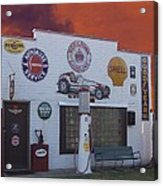 Rt 66 Dwight Il Roadside Attraction Acrylic Print