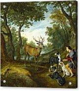 Rubens, Peter Paul 1577-1640 Breugel Acrylic Print