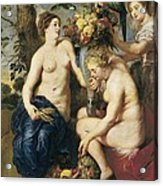 Rubens, Peter Paul 1577-1640. Ceres Acrylic Print