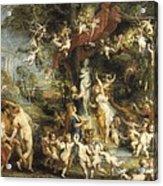 Rubens, Peter Paul 1577-1640. The Feast Acrylic Print