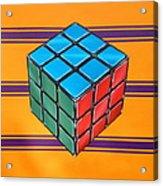 Rubiks Acrylic Print by Anthony Mezza