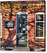 Rubi's Coffee And Sandwiches - Great Barrington Acrylic Print