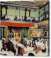 Ruby Foo Den Chinese Restaurant In New York City Acrylic Print