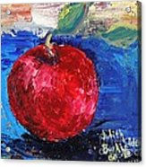 Ruby Red Apple - SOLD Acrylic Print